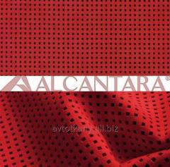 Alcantara light for a banner of salon of a car