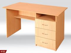 Desk, furniture for a house office, a table for