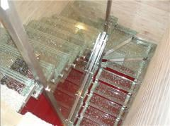 Ladders from glass