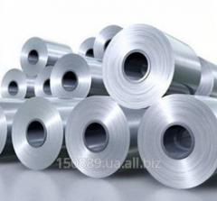 Steel sheet, roll 0,38-0,7 cold-rolled galvanized