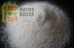 Means for cleaning of a boiler from Master Boiler