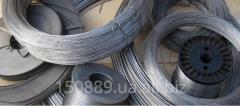 Wire nikhromovy X20H80 diameter of F0,1-F10