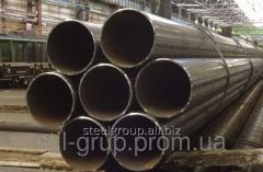 Pipe corrosion-proof 140х8 Steel 12X18H10T (AISI
