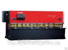 Гидравлические ножницы Yangli QC12K 6*2500(С контроллером на 1 ось)