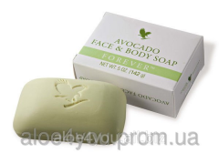 Cosmetic soap with Avocad