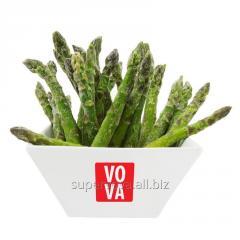 The asparagus frozen