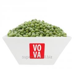 The green peas frozen
