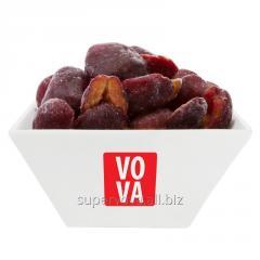 The frozen plum (halves)