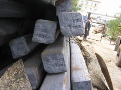 Preparations are steel square hot-rolled, steel 3,