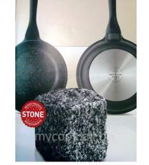 Сковородка с каменным покрытием Rock Stonе 20-28 см