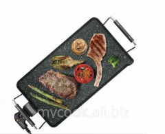 Grill with a stone covering of Galexia Plus Stone