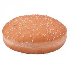 Wheaten roll for a hamburger with sesame 70 of (6