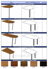 Different a natural tree tables, added and folding