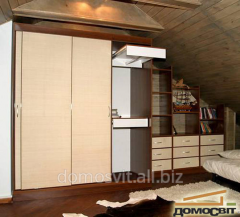 Cases in bedrooms, modular furniture for
