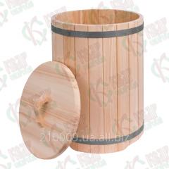 Чан бочка 130 литров Деревянная