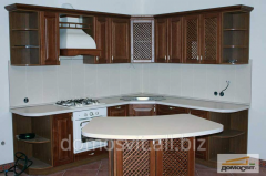 Kitchen furniture, cases on ware from the