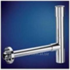 Semi-siphon for a wash basin chromeplated Model: