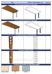 Cases for storage of papers, documents, offices on