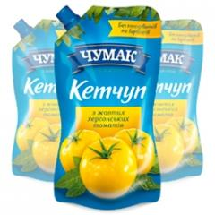 Ketchup Chumak Iz of yellow Kherson tomatoes