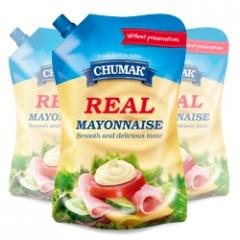 Mayonnaise of Real in packaging doypak 576 g