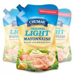 Original Light mayonnaise in packaging doypak 576