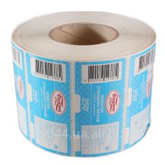 Sticker on polymeric basis