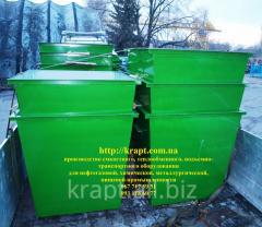 Контейнер для мусора стальной