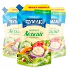 Mayonnaise Real Light doy-pack ice in packaging