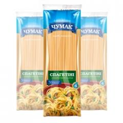 Spagettini's macaroni in soft package (400 g)