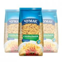 Spiralki's macaroni in soft package (450 g)