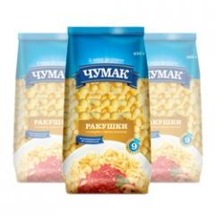 Cockleshell macaroni in soft package (450 g)