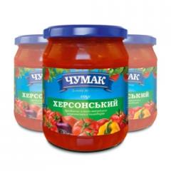 The Kherson sauce in glass jar (500 g)