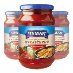 Sauce Kukharsky classical in glass jar (350 g)