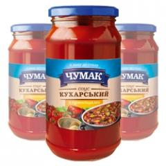 Sauce Kukharsky with spicery in glass jar (500 g)