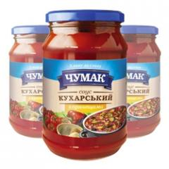 Sauce Kukharsky with spicery in glass jar (350 g)