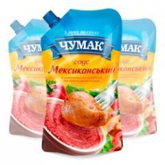 Sauce Meksikansky doy-pack ice in packaging (220