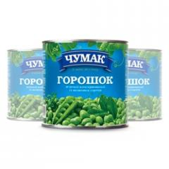 Green peas in can (420 g)