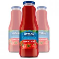 Tomato svezheotzhaty juice in glass jar (1000 ml.)