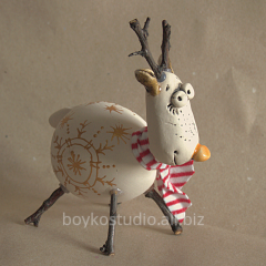 Gregory the Hart, Christmas toy deer.