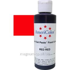 Краситель гелевый AmeriColor Red Red 128 г (цвет