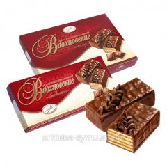 Vafelny NATHNENNYa cake CHOCOLATE