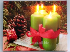 Picture about an illumination / Holiday / Four