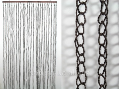 Curtain on a door / Natural materials / Ropes /