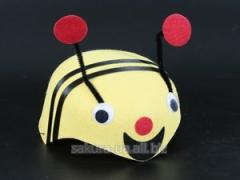 Новогодний костюм / Карнавальная Шапка / Пчелка