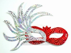 Mask New Year's / 6 pieces in unitary