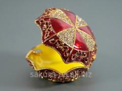 Figure casket / h13014, Metal about pastes / Crown