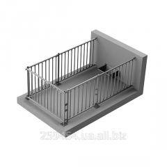 Cage for a male pig