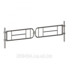 Gate the telescopic strengthened double