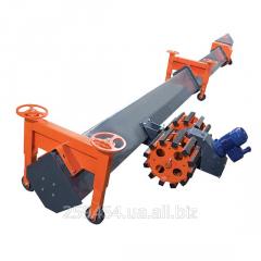 Conveyor cleanup screw
