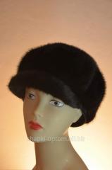The cap is female, fur mink No. 4zhn